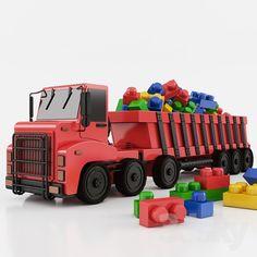 Toy car | 3d model