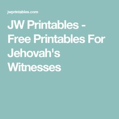 JW Printables - Free Printables For Jehovah's Witnesses Pioneer School Gifts, Pioneer Gifts, Jw Gifts, Craft Gifts, Caleb And Sophia, Jw Printables, Jw Humor, Jw Convention, Jehovah's Witnesses
