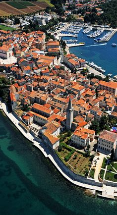 2,000 years old town of Porec, Croatia. www.discovercroatia.eu