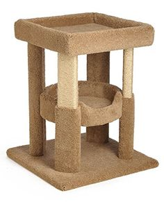 Coliseum with Tub Cat Tree with 2 Sisal Legs Beige -- Check out this great product.-It is an affiliate link to Amazon. #CatActivityTrees