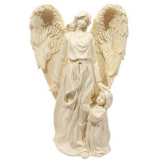 Ornament Angel Mother and Child Figurine Beautiful by getgiftideas
