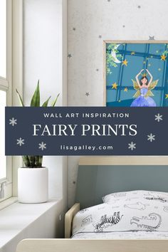Are you planning an Enchanted forest nursery theme for your little girls or boys this Autumn? We have some magical wall art with a beautiful whimsical aesthetic for small spaces and bedrooms. Fairy lights are a must as well as pink woodland prints and fairy prints. Get creative with our choice of romantic little girls pictures for your walls. #lisagalleyillustrations.