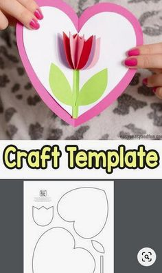 mothers day crafts for kids & mothers day gifts ; mothers day crafts for kids ; mothers day gifts from daughter ; mothers day gifts for grandma ; Kids Crafts, Mothers Day Crafts For Kids, Valentine Day Crafts, Easy Diy Crafts, Craft Projects, Craft Ideas, Project Ideas, Kids Diy, Morhers Day Crafts