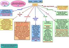 Nursing School Tips, Nursing Tips, Nursing Notes, Concept Map Nursing, Med Surg Nursing, Nursing Mnemonics, Ulcerative Colitis, Nclex, Nurse Practitioner