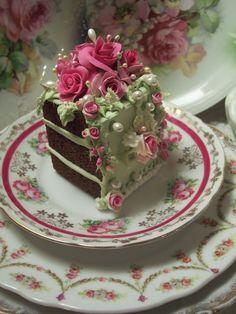 Fake Food Slice of Cake