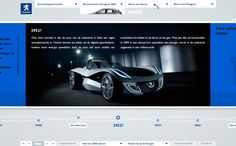 #Peugeot - Auto van 3008 by Momkai, via #Behance #Webdesign