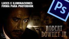Tutorial Photoshop: Efecto luces para firma o Photobook by @ildefonsosegura