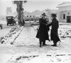 Snow At Universal Studios 1920