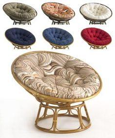 Mushroom Chair My Birthday Papasan Cushion Lounge