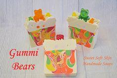 Gummy Bears Soap Bars