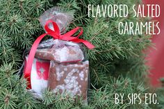 Flavored salted caramels found via Kojo designs