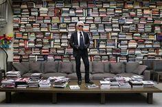 Karl Lagerfield's office