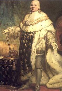 Louis XVIII (1755-1824) Comte de Provence et roi de France.