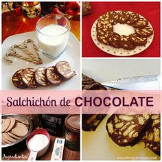 Salchichón de Chocolate