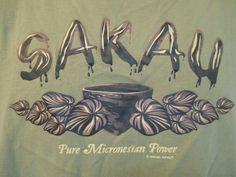 Great hawaiian tee shirt in green!