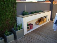 B ton cellulaire on pinterest maison toit terrasse prix - Construire douche exterieure ...