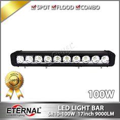 259.90$  Buy here  - 4pcs-17in 100W light bar truck trailer fire emergency vehicle mining truck heavy duty equipment anti-vibration led light bar