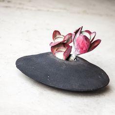 Ceramic planters by Anthony Shapiro