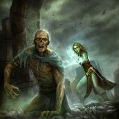 """Necromancer by karichristensen 