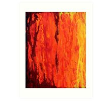 Abstract Fire Drip Painting  Available now as a print, phone case, T shirt, travel mug, etc. on RedBubble and Society6