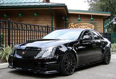 Cadillac CTS-V...I would be in jail with this car.