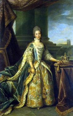 Queen Charlotte, Princess Sophia Charlotte of Mecklenburg-Strelitz, Nathaniel Dance Holland, 1773