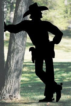 Schatten-Yard-Kunst Cowboy-Muster - All For Garden Wood Yard Art, Wood Art, Westerns, Shadow Art, Western Theme, Teds Woodworking, Woodworking Apron, Custom Woodworking, Woodworking Ideas