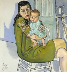 Alice Neel paintings are like car wrecks.  You don't want to look at the mayhem, but your eyes are inexorably drawn to it.  I have always l...
