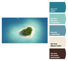 Paint colors from Chip It! by Sherwin-Williams- More beach colors!
