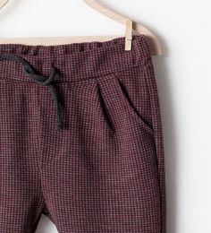 Image 3 of CHECK TROUSERS from Zara