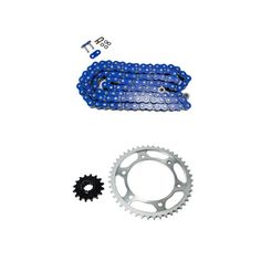 Yellow O-Ring Chain and Sprocket Kit for Honda VT750 DC Shadow Spirit 2001 2002 2003 2004 2005 2006 2007
