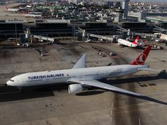 Turkish Airlines, Boeing 777, Istanbul, Wonders Of The World, Aviation, Aircraft, Airplanes, Planes, Airplane