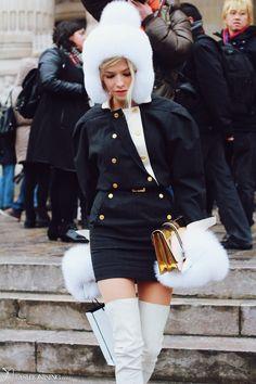 elena perminova street style
