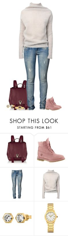 """""""Throwback thursday"""" by paolanoel on Polyvore featuring Proenza Schouler, Timberland, LTB by Little Big, Rick Owens, IBB and Fendi"""
