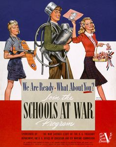 We Are Ready, What About You? WW2 poster