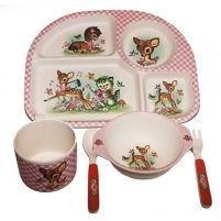Children's eco dinner set