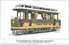 Wolverhampton 10 (1902), de Wolverhampton Corporation Tramways (2) Wolverhampton, Gazebo, Sketch, Outdoor Structures, Sketch Drawing, Draw, Pavilion, Sketching, Tekenen