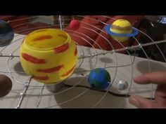 Solar System Projects For Kids, Space Projects, School Projects, Stem For Kids, Art For Kids, Art N Craft, Science Fair Projects, Activities For Kids, Number