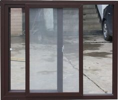 Bug Screen For Bi Fold Doors And Optional Shade Projector