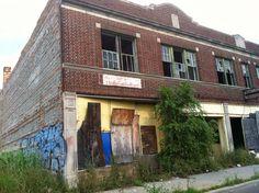Blight at 1262 Dexter Avenue, Detroit, MI, USA: