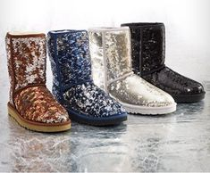 Sparkly UGGS are on my Christmas list.