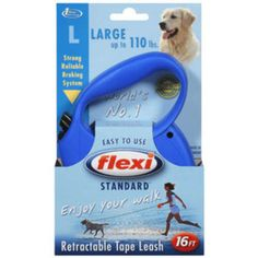 I'm learning all about Flexi USA Retractable Tape Leash at @Influenster!