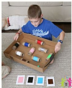 Kartondan Labirent Oyunu cocukgelisimi.info Sitemizde bu hafta Bir karton kutusunu eğlenceli bir top labirentine dönüştüreceğiz! Muhtemelen bütün bu malzemeleri elinizde mevcuttur, çocuklar için ha…