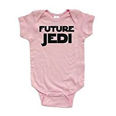 Adorable Future Jedi Soft and Comfy Cute Baby Short Sleeve Cotton Infant Bodysuit 18 Months Pink * Check this awesome product by going to the link at the image. Star Wars Baby Clothes, Funny Baby Clothes, Funny Babies, Cute Babies, Funny Baby Costumes, Girl Costumes, Star Wars Onesie, Star Wars Outfits, Textiles