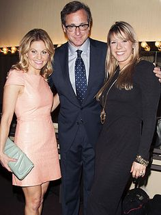 Jodie Sweetin, Bob Saget and Candace Cameron Bure REUNITE in L.A.... love me some full house:)