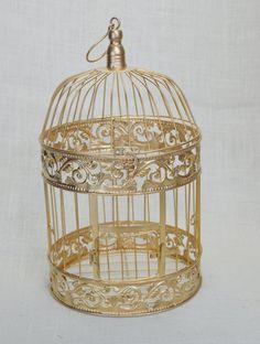 B002 Wedding Birdcage Centerpiece or Wishing por AFlowerAndMore