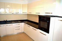 Imagini pentru mobila bucatarie mdf u lucios uni Kitchen Cabinets, Kitchens, Home Decor, Decoration Home, Room Decor, Cabinets, Kitchen, Cuisine, Home Interior Design