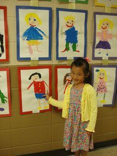 Pace Family: Preschool Art Show