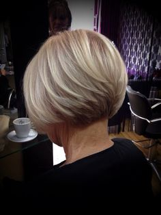 by Emma osshairdres. Classic graduated bob by Emma osshairdres.graduated bob by Emma osshairdres. Classic graduated bob by Emma osshairdres.bob by Emma osshairdres. Classic graduated bob by Emma osshairdres.graduated bob by E. Graduated Bob Hairstyles, Bob Hairstyles For Fine Hair, Short Bob Haircuts, Haircuts For Long Hair, Short Hair Cuts, Pixie Cuts, Short Graduated Bob, Layered Hairstyles, Pixie Bob