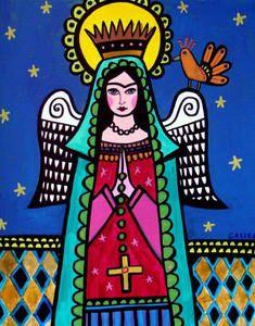 frida kahlo angel